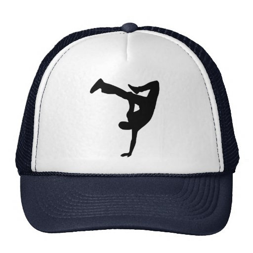 Break dance mesh hats