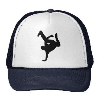 Break dance mesh hat