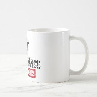 Break Dance Not Hearts Basic White Mug