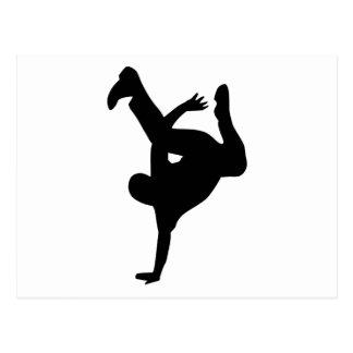 Break dance post cards