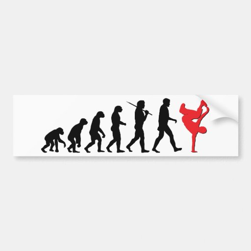 Break Dancing Bumper Stickers