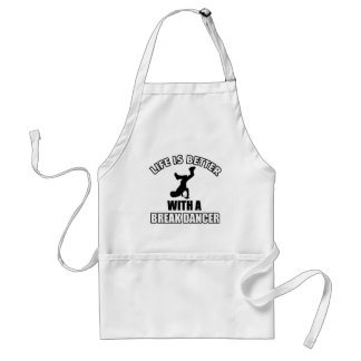 Break dancing designs standard apron