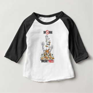 Break Free - Stop Smoking Baby T-Shirt