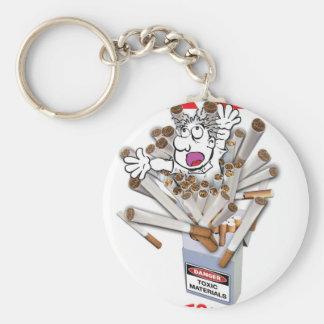 BREAK FREE - Stop Smoking Basic Round Button Key Ring