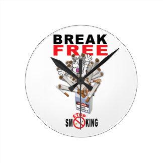 BREAK FREE - Stop Smoking Round Clock