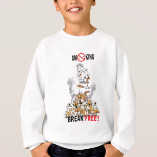 Break Free - Stop Smoking Sweatshirt