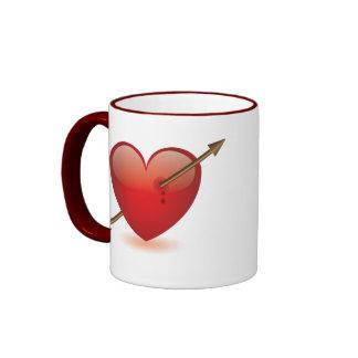 Break Heart Ringer Mug