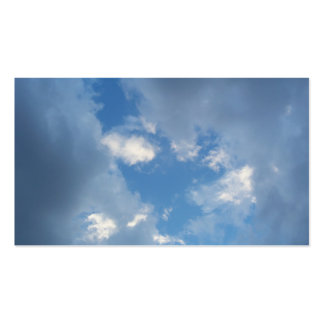 Break In The Clouds Double-Sided Standard Business Cards (Pack Of 100)