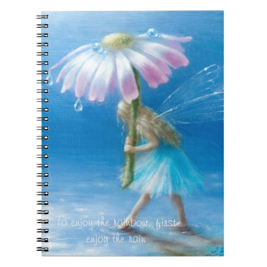 Break In The Clouds notebook by Lynne Bellchamber
