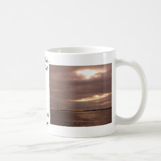 Break in the Clouds, Streams of Light CricketDiane Basic White Mug