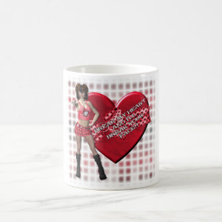 Break My Heart - Classic White Mug