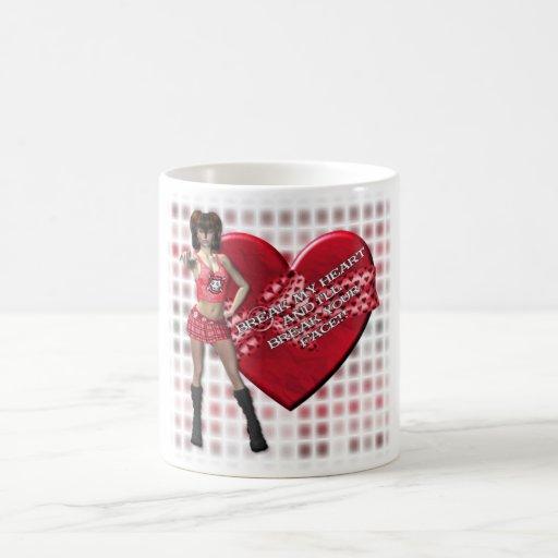 Break My Heart - Classic White Mug