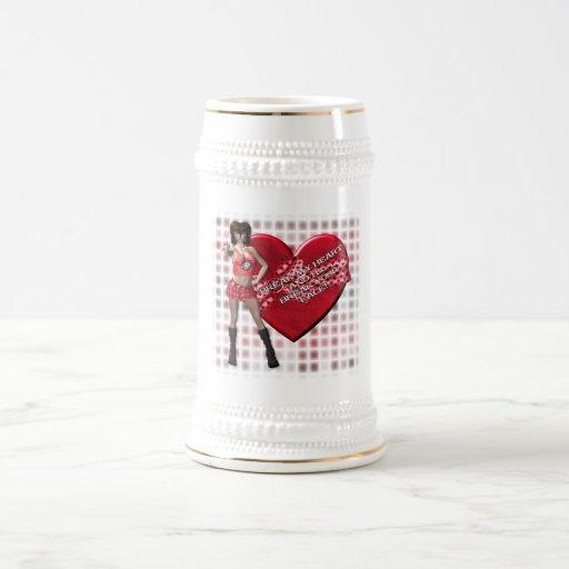 Break My Heart - Stein Mugs