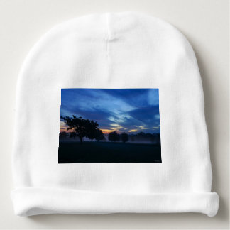 Break Of Dawn And Fog Baby Beanie