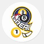 break! stickers