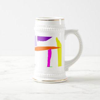 Break Tea Time Sugar Honey Table People Coffee Mug