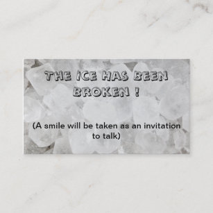 Dating business cards zazzle uk break the ice dating business card colourmoves