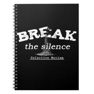 Break the Silence Notebook