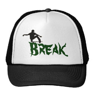 Break the skate cap