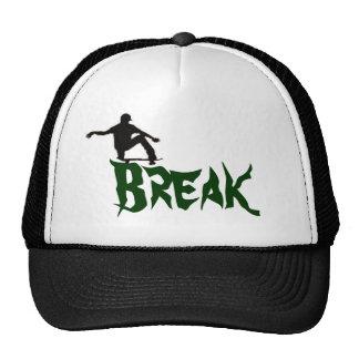 Break the skate mesh hat