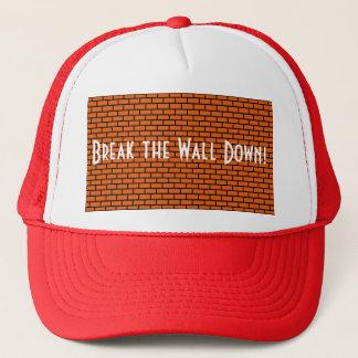 Break the Wall Down, Orange Brick Trucker Hat