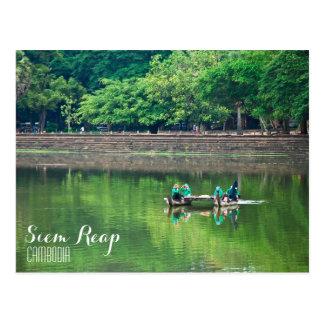 """Break Time"" Siem Reap Postcard"