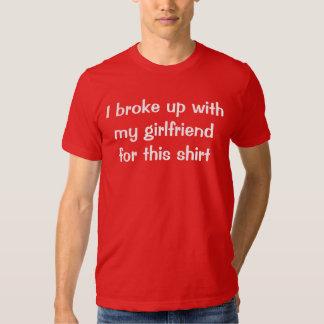 Break Up Shirt