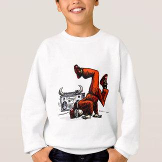 Breakdancer and Box Hip Hop Sweatshirt