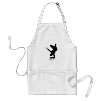 Breakdancer (on elbow) adult apron
