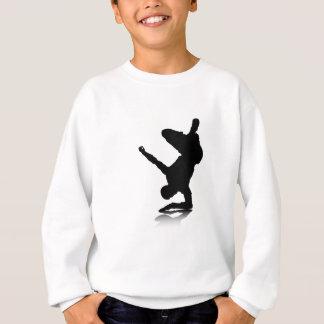 Breakdancer (on elbow) sweatshirt