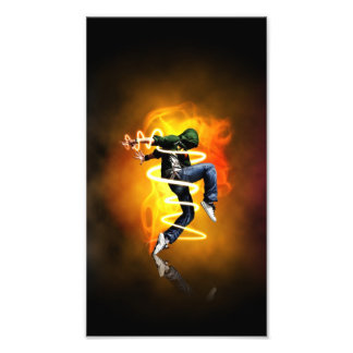 Breakdancer Photo Print