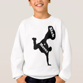breakdancer sweatshirt
