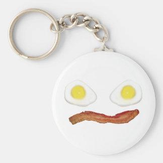 Breakface Basic Round Button Key Ring