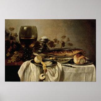 Breakfast, 1646 poster