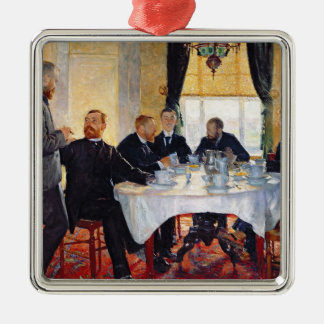 Breakfast at Blankenberghe Christmas Ornament