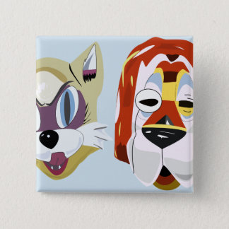 Breakfast at Tiffany's Mask Buttons