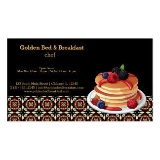 Breakfast Business Cards