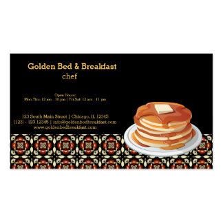 Breakfast Business Card Template