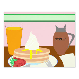 Breakfast Card