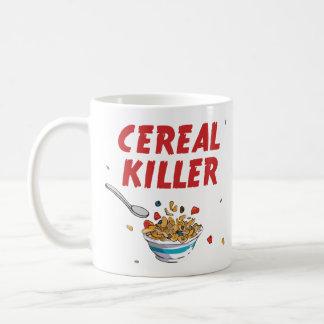 Breakfast Cereal Killer Basic White Mug