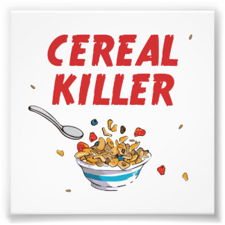 Breakfast Cereal Killer Photo Print