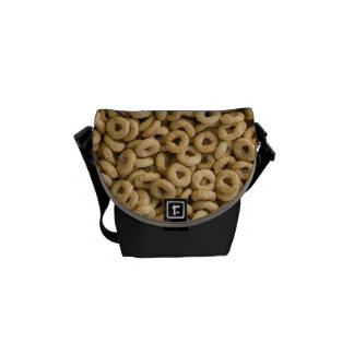 Breakfast Cereal rings Courier Bag