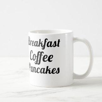 breakfast coffee pancakes coffee mugs