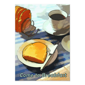 Breakfast Coffee & Toast Card