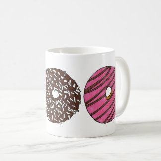 Breakfast Donut Doughnut Shop Junk Food Foodie Coffee Mug