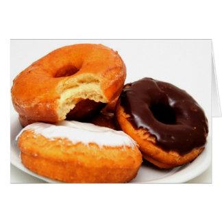 Breakfast Doughnut Card