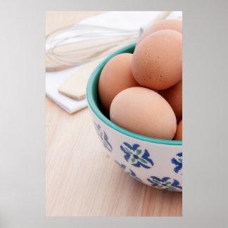 Breakfast eggs 4 poster