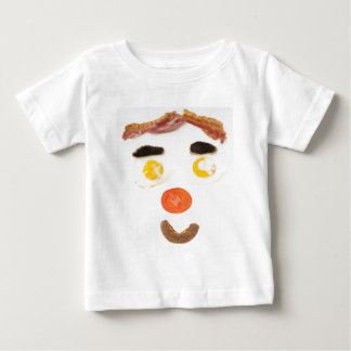 Breakfast Face Baby T-Shirt