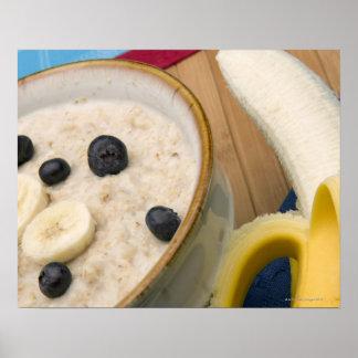 Breakfast food poster