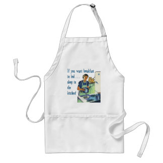 Breakfast in Bed Apron